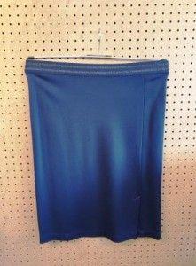 Donkerblauwe rok