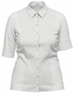 Witte tricot blouse