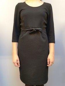 Zwarte jurk Batida