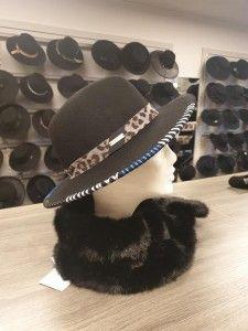 Cowboy hoed met tijgerprint
